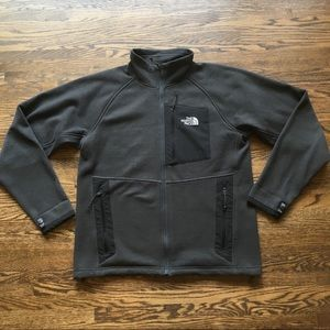 The north face charcoal lightweight jacket